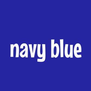 紺色 ネイビー navy blue 英語