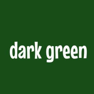 深緑 ダークグリーン dark green 英語