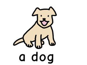 犬 dog 英語 イラスト