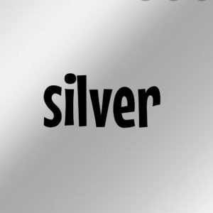 銀色 silver 英語