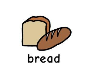 パン bread 英語